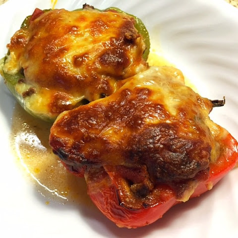 Zucchini Stuffed Peppers – Low Carb Stuffed Peppers