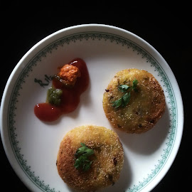 Yummy Cutlets by Prachi More - Food & Drink Plated Food