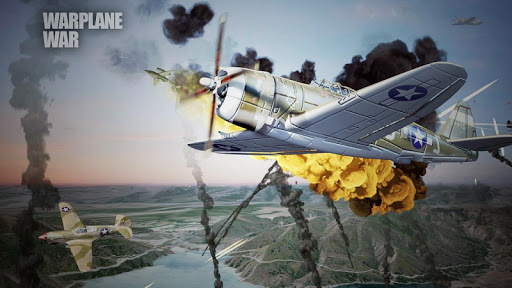 World Warplane War:Warfare sky - screenshot