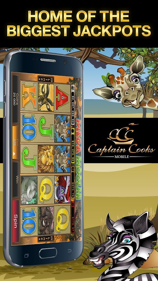 Captain Cooks Mobile HD Screenshot 1
