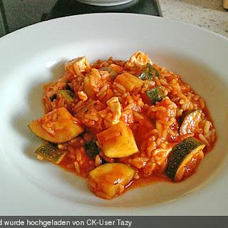Stuffed Zucchini Rice Recipes