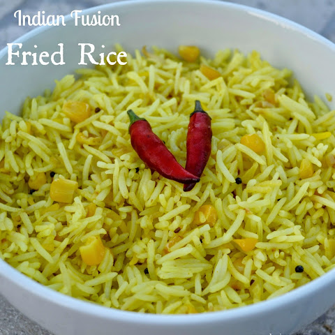 Indian Fusion Fried Rice {Recipe}
