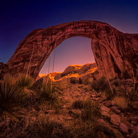 Rainbow Bridge by Stanley P. - Landscapes Caves & Formations ( formations, rock, landscapes )