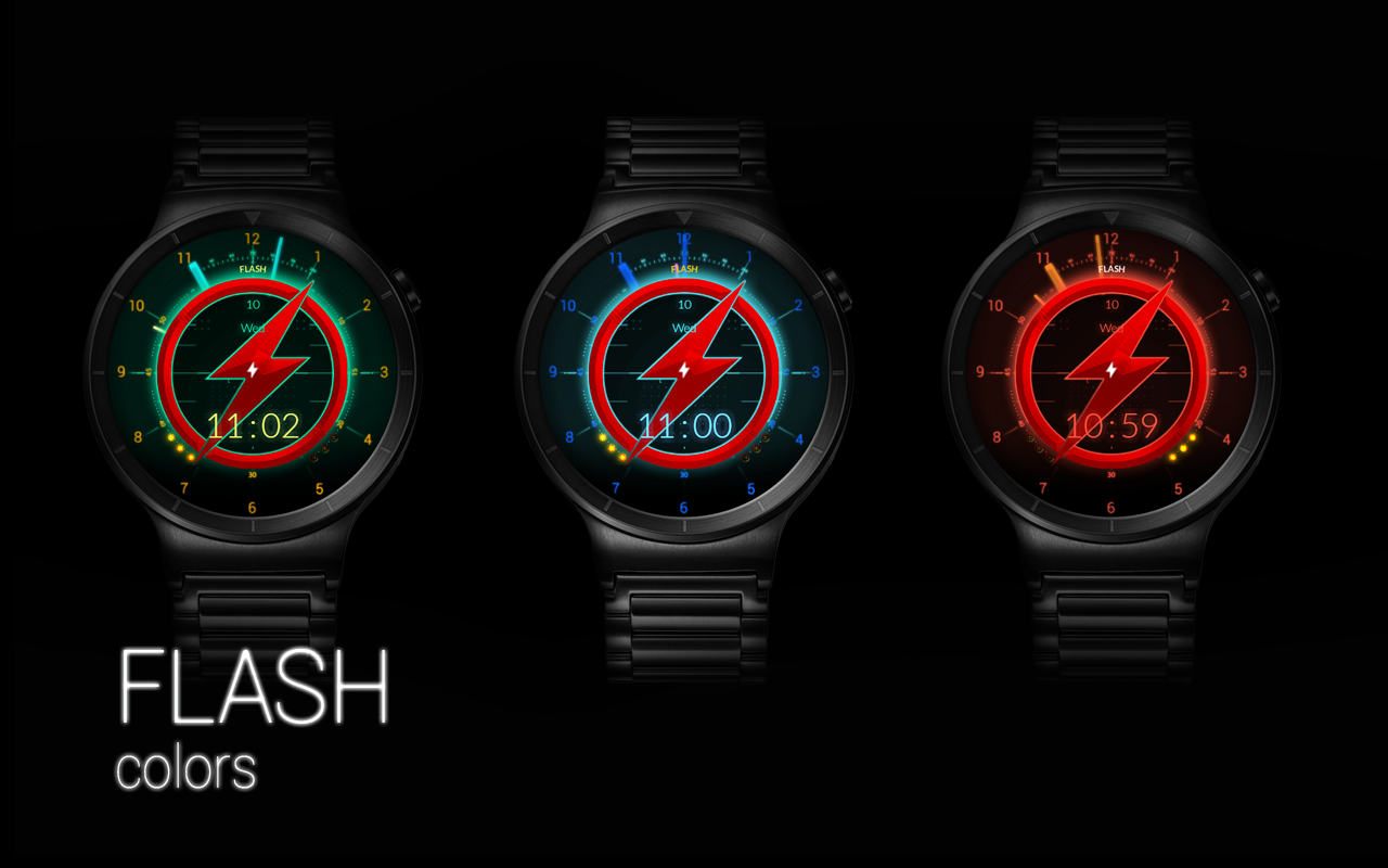 FLASH - Watch Face Screenshot 12