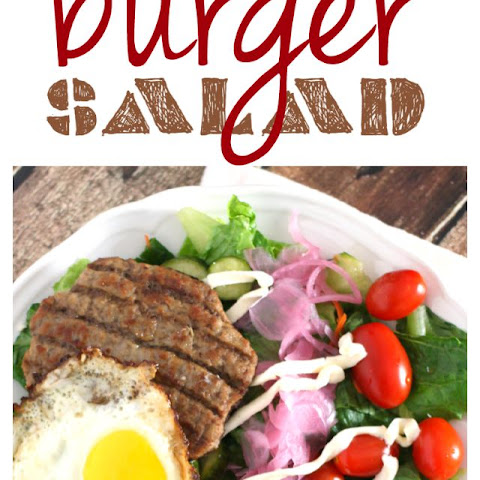 [ad] The Ultimate Loaded Burger Salad