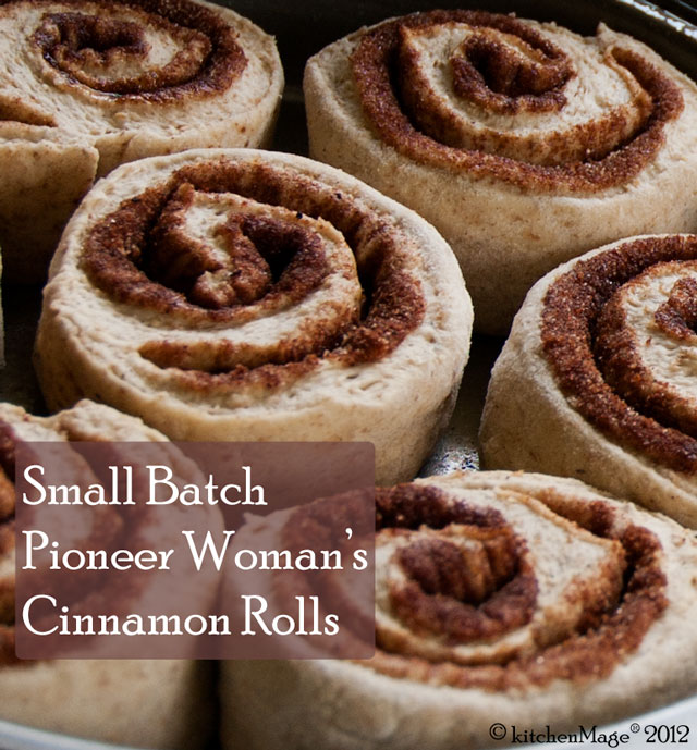 Small Batch Pioneer Woman's Cinnamon Rolls Recipe | Yummly