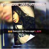 InstaSquare e SnapChat Effects
