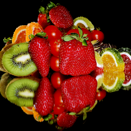 strawberry,kiwi and candys  by LADOCKi Elvira - Food & Drink Fruits & Vegetables ( kiwi, candys, fruits )
