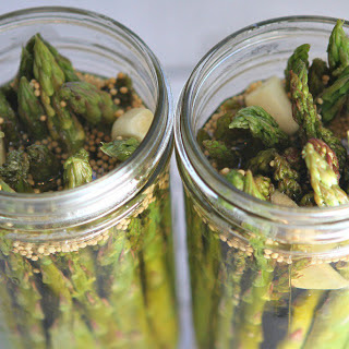 Gingery Pickled Asparagus