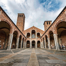 S.Ambrogio by Antonello Madau - Buildings & Architecture Other Exteriors ( milano, antonello madau, s.ambrogio )