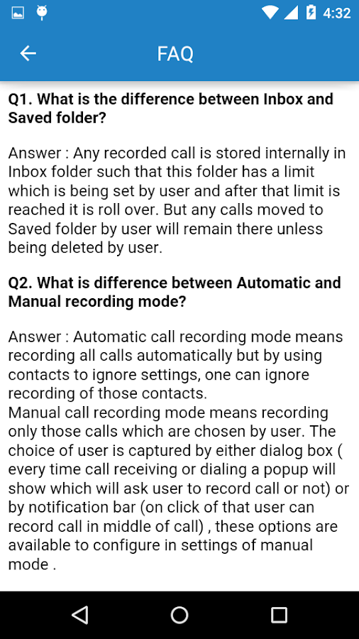 Call Recorder Pro Screenshot 8