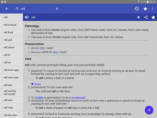 English Dictionary - Offline screenshot 11