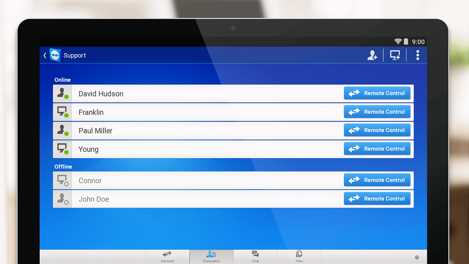 TeamViewer for Remote Control Screenshot 9