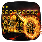 Fire Bike Keyboard Theme Icon