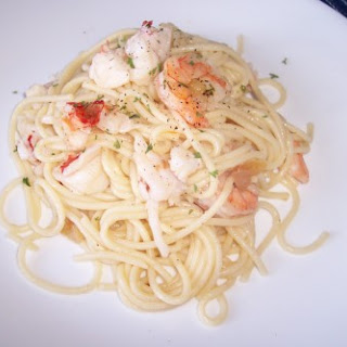 Lobster and Shrimp Scampi ? 10 Points Plus