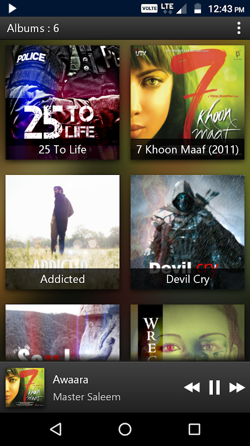 PowerAudio Pro Music Player Screenshot 4