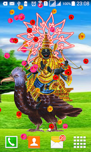 Lord Shani Live Wallpaper - screenshot