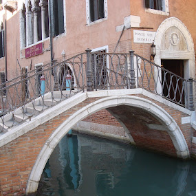 Devil Bridge in Venice by Yury Tomashevich - Buildings & Architecture Bridges & Suspended Structures ( water, venice, bridge, bridges, italy )