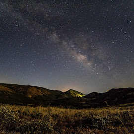 Mt Laguna Starscapes by Greg Head - Novices Only Landscapes ( mountains, stars, landscape, moonlight, milky way )