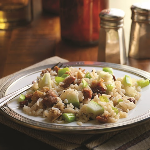 Walnut, Apple and Sausage Dressing