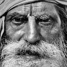 by Sudipta Dutta  Chowdhury - People Street & Candids ( senior citizen, face, people, pwc faces )