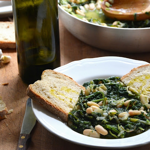 White Beans And Wilted Greens