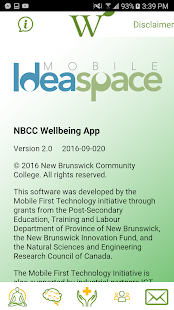 NBCC Wellbeing - screenshot