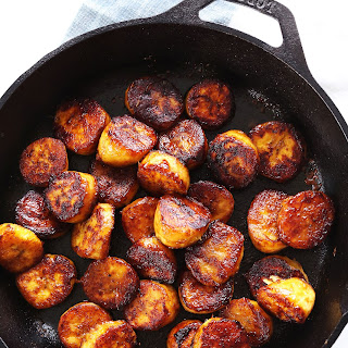 Coconut Sugar Caramelized Plantains