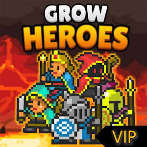 Grow Heroes Vip : Idle RPG For PC