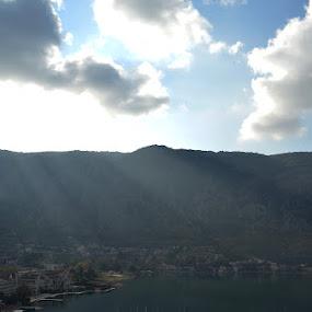 Kotor bay by Aleksandar Šeter - City,  Street & Park  Skylines ( bay, kotor, ©alexandarsheter, unesco )