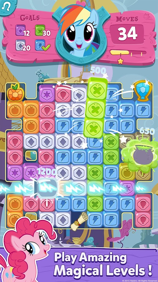 My Little Pony: Puzzle Party Screenshot 2