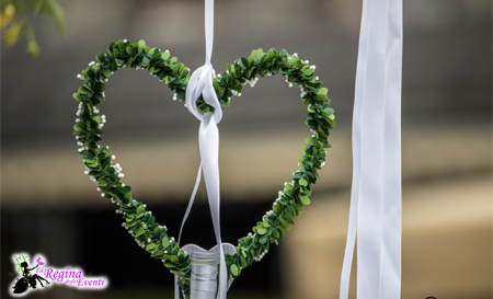 Allestimenti matrimoni cuore