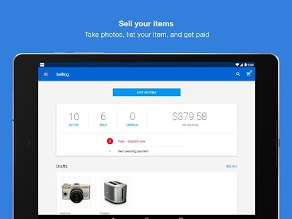 App eBay - Buy, Sell & Save Money APK for Kindle