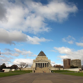 Shrine of Rememberance by Chris Romano - Buildings & Architecture Public & Historical
