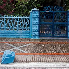 by Estislav Ploshtakov - City,  Street & Park  Neighborhoods