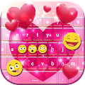 Glitter Heart Keyboard APK for Lenovo