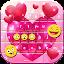Free Download Glitter Heart Keyboard APK for Blackberry