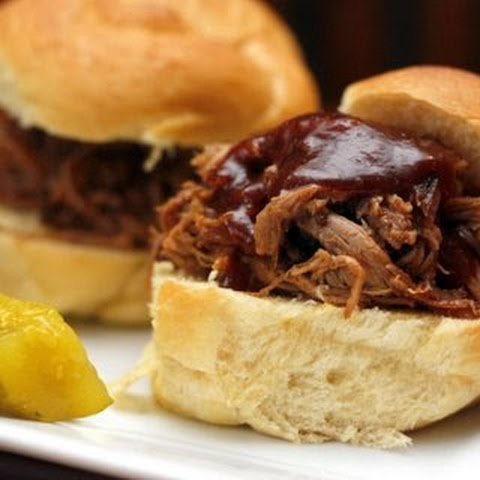 Indoor Pulled Pork with Sweet and Tangy BBQ Sauce