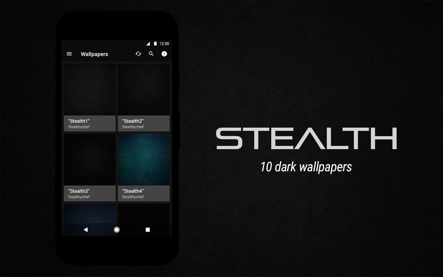 Stealth Icon Pack Screenshot 10