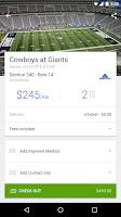 Screenshot of SeatGeek Event Tickets