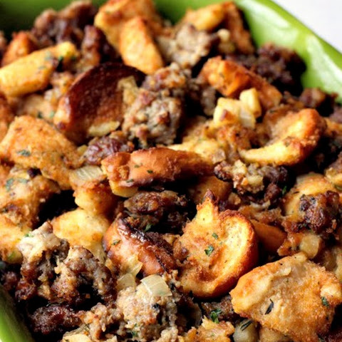 The Best Sausage Stuffing