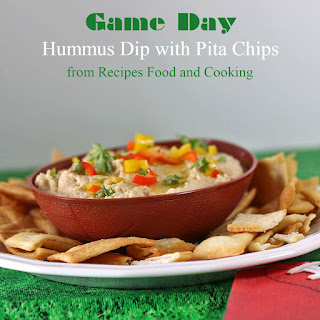 Game Day Hummus Dip