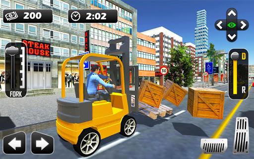 Extreme Forklift Driving 3D - screenshot