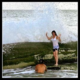 { Big Splash ~ along the Gulf ~ 28 July }  by Jeffrey Lee - People Street & Candids ( { big splash ~ along the gulf ~ 28 july } )