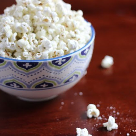 Smoked Sea Salt Popcorn