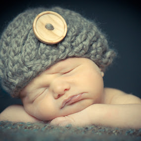 Sweet Dreams by Mike Kremer - Babies & Children Babies ( ekimpix, baby, cute, sleep, hat )