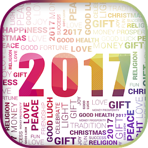 Happy New Year 2017 in German