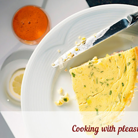 Omelette-souffle With Ham And Cheese