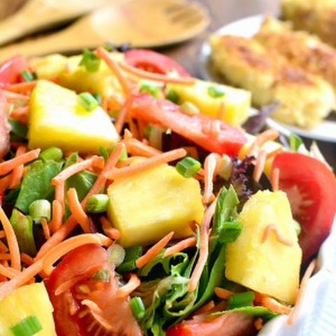 Pineapple Crunch Salad