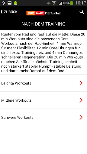Fit fürs Rad - screenshot